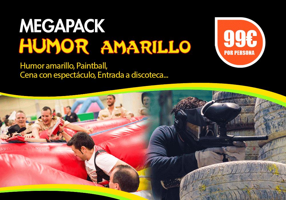 Pack Humor amarillo Pamplona